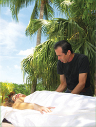 Peter at Table: Massage, Reiki, Reflexology, CranioSacral | Sunrise, Plantation, Ft. Fort Lauderdale | Peter Fox Healing Hands, Spiritual